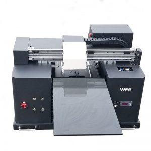 మొబైల్ చర్మం వ్యాపారం WER-E1080UV ముద్రణ కోసం 3d t- షర్టులు ప్రింటర్ యంత్రం