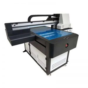 3D ప్రభావం / వార్నిష్ ముద్రణతో A1 UV ప్రింటర్ డిజిటల్ 6090 flatbed UV ముద్రణ యంత్రం