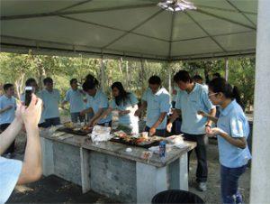 Gucun పార్క్ లో BBQ, ఆటం 2014