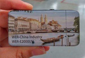 ఎలక్ట్రిక్ లైటర్ A3 సైజు చిన్న UV ప్రింటర్ -WER-E2000UV చే ముద్రించబడింది