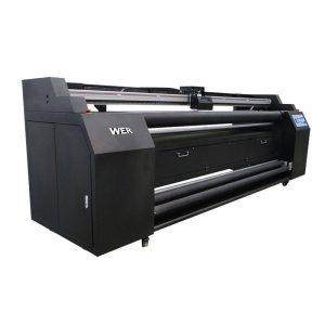 WER-E1802T 1.8m 2 * DX5 సబ్లిమేషన్ ప్రింటర్తో వస్త్ర ప్రింటర్కు ప్రత్యక్షంగా ఉంటుంది