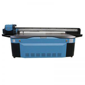 పూర్తి రంగు CMYK LCLM తెలుపు వార్నిష్ UV flatbed ప్రింటర్ 3D WER-G2513UV